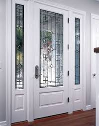 entry swing door with sidelites