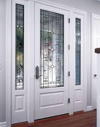 entry swing door with sidelites
